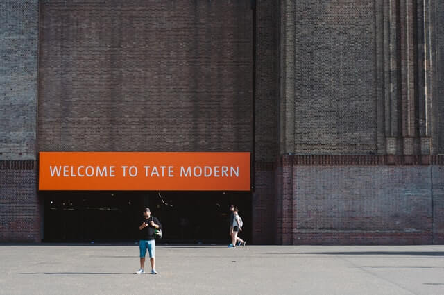 Building of Tate Modern