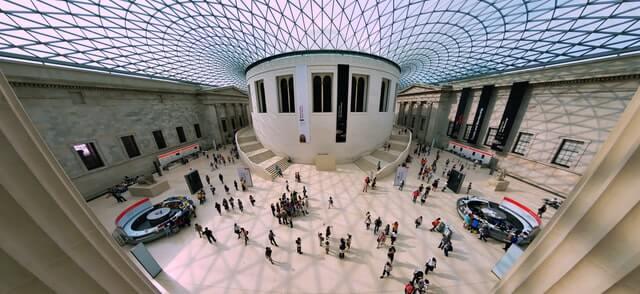 The British Museum in London UK